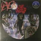 "Slayer – Live Undead 12"" EP NEW Ltd Blue / Black Split Vinyl With Poster"