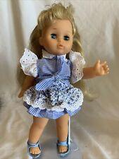 Vintage Zapf Creations Dill Blonde Hair Blue Eyes Original Clothing Always Displ