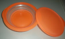 TUPPERWARE MINI MAX BOÎTE PLIABLE ORANGE 1500 ML 1.5 L TRES BON ETAT