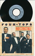 """FOUR TOPS 45 TOURS 7"""" GERMANY INDESTRUCTIBLE"""