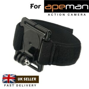 Wrist Strap Arm Mount Holder for Apeman A77 A79 A89 A90 A99 A100 Action Cameras