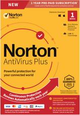 Norton AntiVirus Plus 1 Gerät 1 Jahr Plus 2gb Cloud-Anti-Virus Email EU