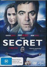 The Secret DVD NEW James Nesbitt Genevieve O'Reilly Region 4