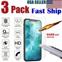 3-Pack iPhone 6 / 7 / 8 Plus Tempered GLASS Screen 11 X XS MAX SAMEDAY SHIP LOT