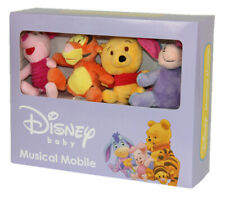 Disney Baby Sesame Street Mickey Mouse Pooh Wind Up Crib Musical Cot Mobile 0 M+