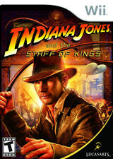 Indiana Jones and the Staff of Kings WII New Nintendo Wii