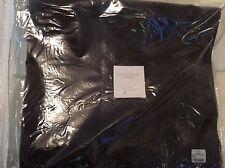 Restoration Hardware One (1) Vintage Velvet Drape Graphite Gray 50x84