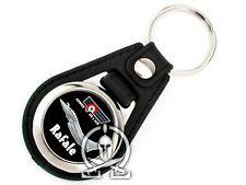 Porte clés METAL & CUIR SYNTHETIQUE - RAFALE - pilote chasse AVION armée air VOL