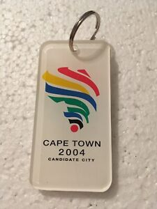 2004 Cape Town Olympic bid candidate boxing keychain