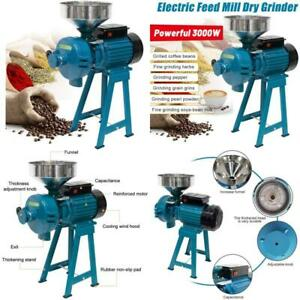 Mophoto 3000W Electric Dry Wet Grain Grinder Mill Corn Grinder Mill Electric Dry