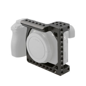 CAMVATE Half Frame Camera Cage for Sony A6300 A6400 A6500 A6600 & Canon Eos M