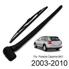 Rear Windshield Wiper Arm Blade Set Kit For Porsche Cayenne 955 MK1 2002-2010