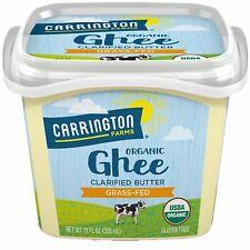Carrington Farms @Organic Ghee Clarified Butter Grass-Fed @ 12fl.oz/355ml