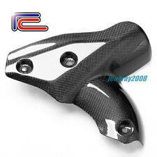 RC Carbon Fiber Exhaust Cover Heat Shield DUCATI Streetfighter S 1100 848