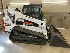 2016 Bobcat T740 Track Loader 2 Speed 290 Hours 1 Owner Loaded Iowa