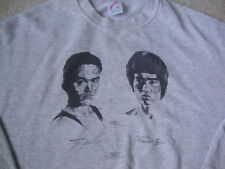Vintage Bruce And Brandon Lee Karate The Crow 1994 crew neck Sweatshirt XL
