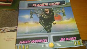 Planète Story - Harry Harrison & Jim Burns - Denoël 1979