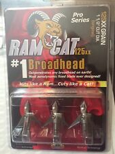 Ramcat Broadhead 125 gr. 3 pk. Ram125xx
