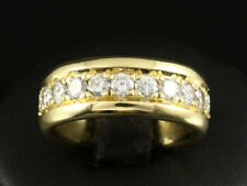 Wertvoller Brillant Memory Ring ca. 3,15ct   585/- Gelbgold