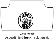1968 1970 Dodge Super Bee Trunk Rubber Floor Mat Cover with MB-100 Super Bee