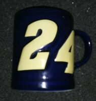 Jeff Gordon #24 Coffee Mug Cup Nascar JG Motorsports, Inc. Holds 12 Ounces GUC