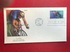 #3119 FDC 1996 Fleetwood 50c Cycling L984 UA Blue
