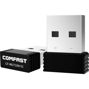 Wireless Mini USB WIFI Adapter 150Mbps USB2.0 WIFI Receiver for Laptop PC