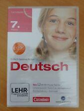 NEU - Lernprogramm - Deutsch - 7. Klasse - CD-ROM - Realschule/Gymnasium