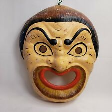Ancient Greek Mythology Mask Rare Hellenic Ceramic Art Hand Painted