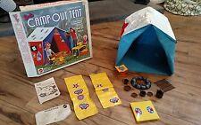 Vintage 1972 Barbie Camp Out Tent MATTEL No. 4288 in Original Box & Fire Pit