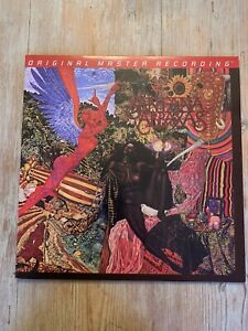 Santana Abraxas MFSL vinyl record limited edition numbered