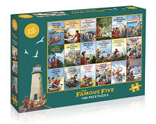 GIBSONS THE FAMOUS FIVE ENID BLYTON 1000 PIECE JIGSAW PUZZLE G7090 NEW SEALED