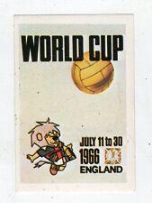[JJ] FIGURINA CALCIO FLASH MEXICO 1986 STEMMA WORLD CUP ENGLAND 1966 NUMERO 11