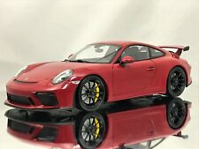 Minichamps Porsche 911 (991.2) GT3 991 II Facelift MK2 2017 Red 1:18