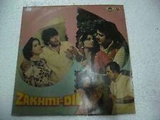 ZAKHMI DIL VED PAL 1981  RARE LP RECORD OST orig BOLLYWOOD VINYL hindi India EX