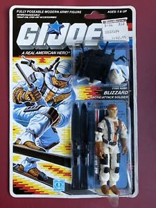 "1987 HASBRO GI JOE BLIZZARD RE-SEALED CARDED 3 3/4"" COMPLETE ARAH Action Figure"