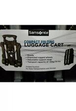 Samsonite Luggage Compact Folding Cart, Black, One Size