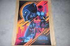 Tom Whalen Black Panther Variant Print Grey Matter Art