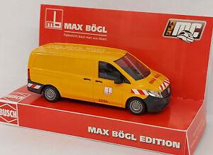 "BUSCH  51100-162 Spur H0 Mercedes-Benz Vito ""Max Bögl Edition"" Sonderserie #NEU#"