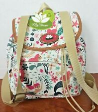 NWT LILLY BLOOM Green Living Backpack seagarden  Mermaids minnie Backpack