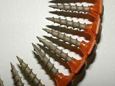 """PAM COLLATED SCREWS, 2 BOXES, PHCH8100, 8 X 1"""" PAN HEAD, TYPE 17PT, COPPER COAT"""