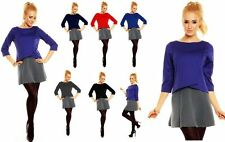 Viscose 3/4 Sleeve Tunic Everyday Dresses for Women
