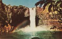 Postcard Rainbow Falls Hilo Hawaii