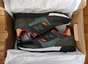 New Balance Trailbuster Re-engineered Sneakers Orange/Olive Green Men's Size 9