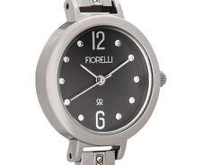 Fiorelli Women's 23mm Peonia Watch - Silver F312A Bracelet