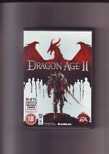 DRAGON-AGE II 2 - RPG PC & APPLE MAC GAME - FAST POST - ORIGINAL & COMPLETE  VGC