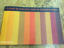 Fleuve de Couleur l'Inde de Raghubir Singh 2000, Softcover