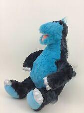 "Build a Bear Stegosaurus Blue Dinosaur Dino Blue Retired 18"" Plush Stuffed Toy"