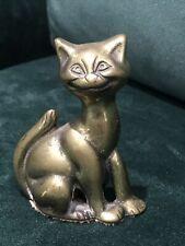 UNUSUAL Unknown LOUIS WAIN BRASS CAT Object c1920s - WHAT IS IT?