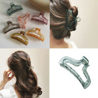 Elegant  Acrylic Hair Clamp Claws Clip Hairpins Ponytail Women Hair Accessories